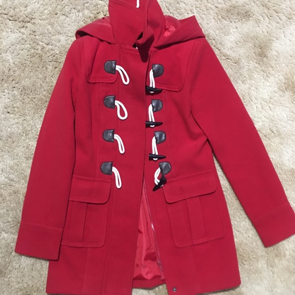 Forever 21 Jackets & Blazers - Forever21 Red Coat
